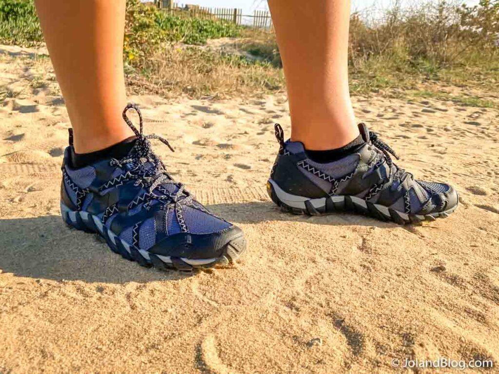 Sapatos de caminhada Merrell | Como fazer a mala de viagem