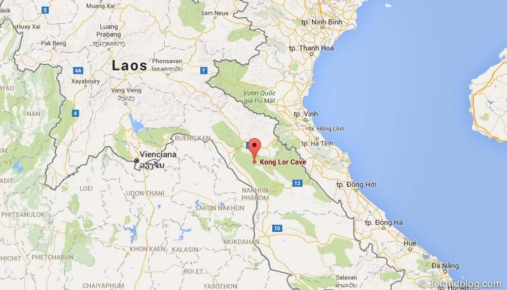 kong lor mapa laos