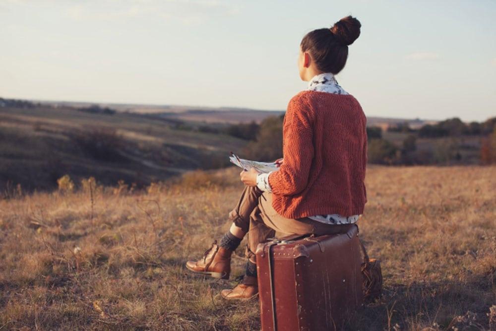 Viajar sozinha em segurança