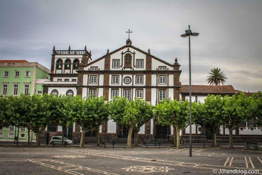 A cidade de Ponta Delgada