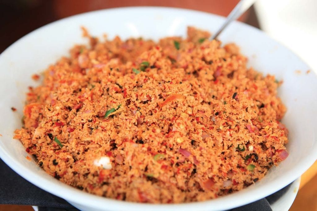 pratos tipicos do Sri Lanka