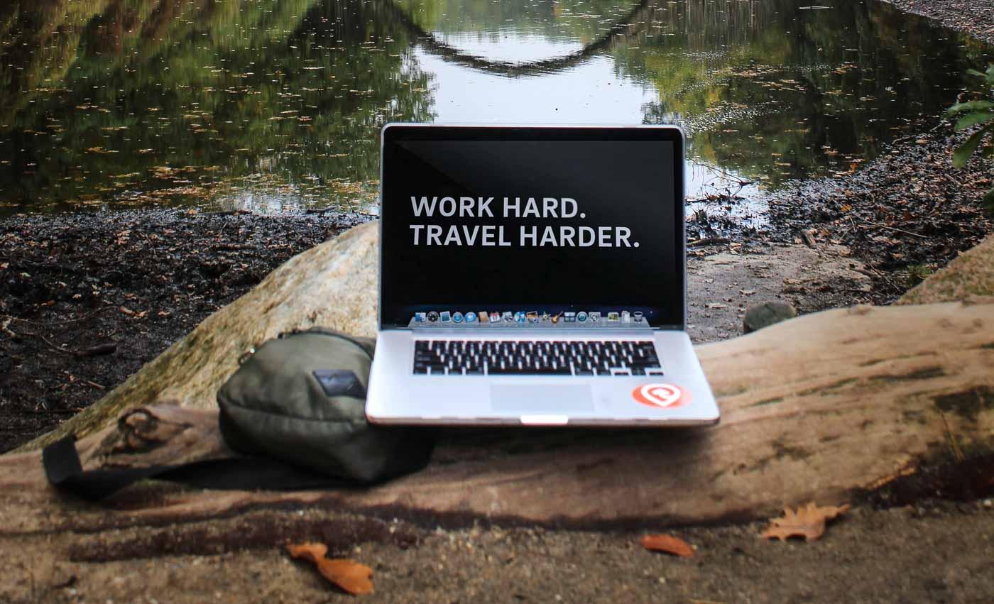 viajar e trabalhar em viagem