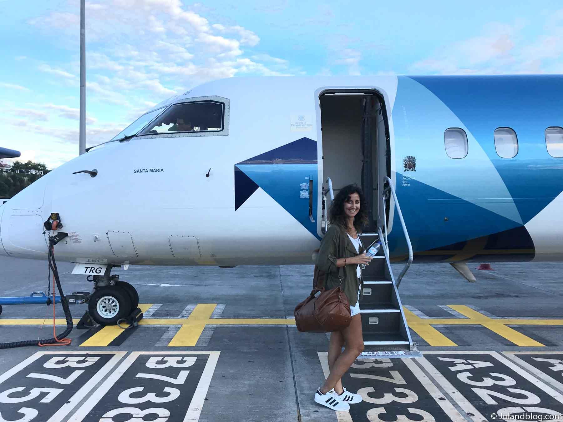 Voo da SATA nos Açores / Viajar para os Açores em tempos de Covid