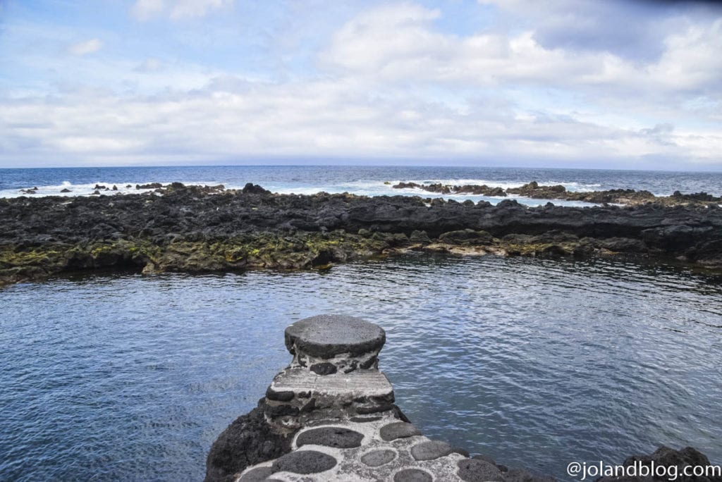 PIscinas naturais na Ilha do Pico