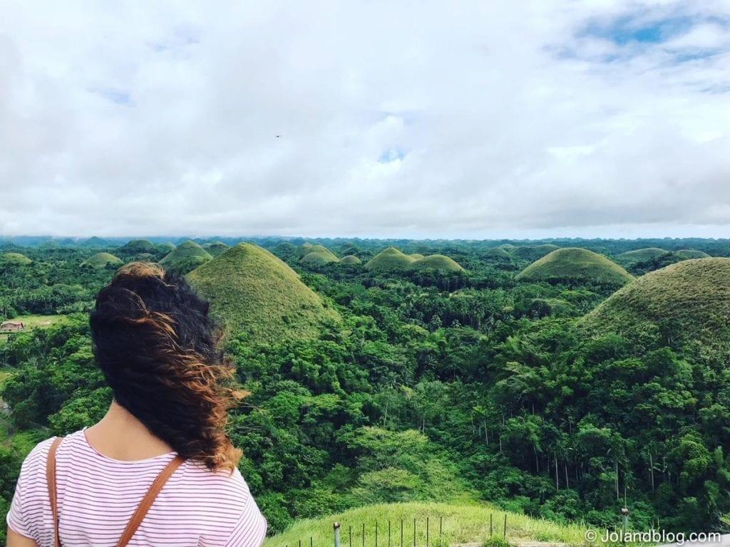 travel itinerary philippines / Chocolate Hills