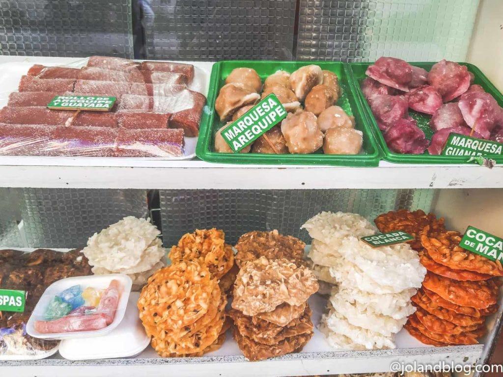 Comida típica da Colômbia