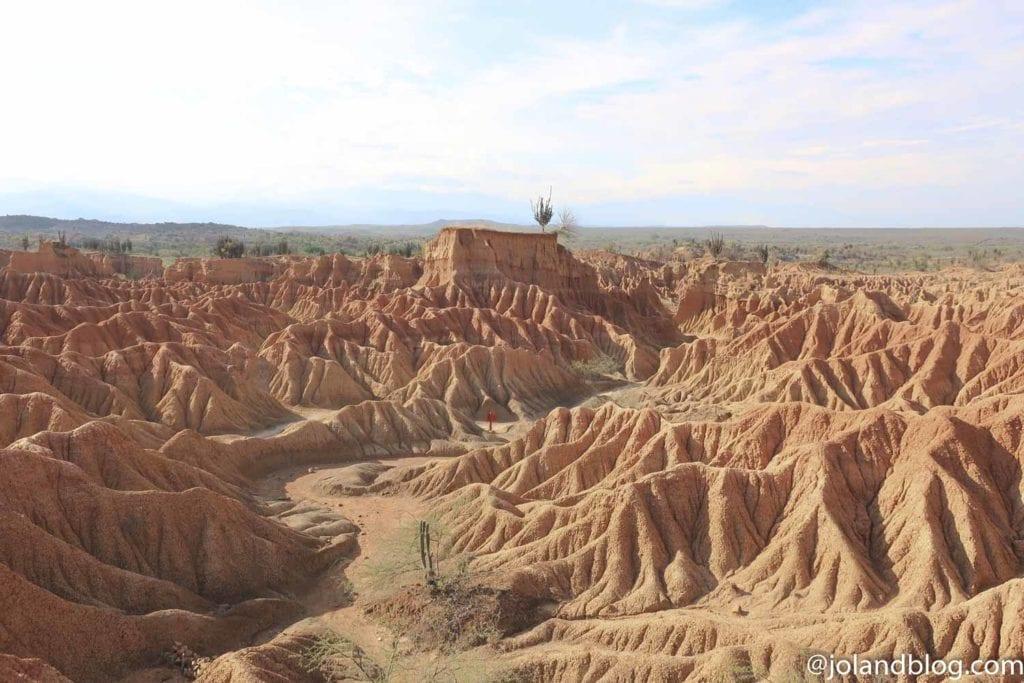 Deserto vermelho de Tatacoa na Colômbia