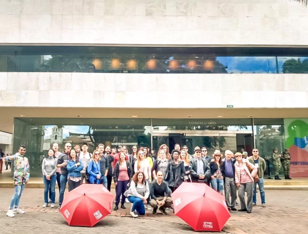 Free Walking Tour Beyond Colombia em Bogotá