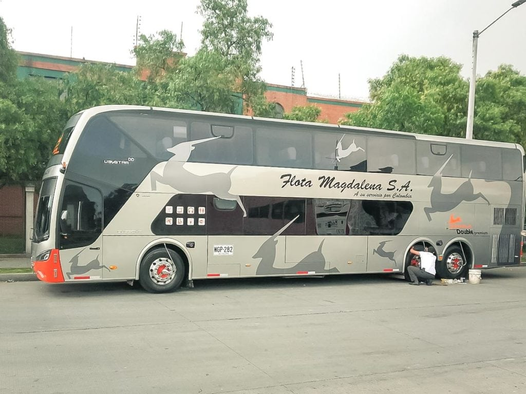 Autocarro Flota Magdalena na Colômbia