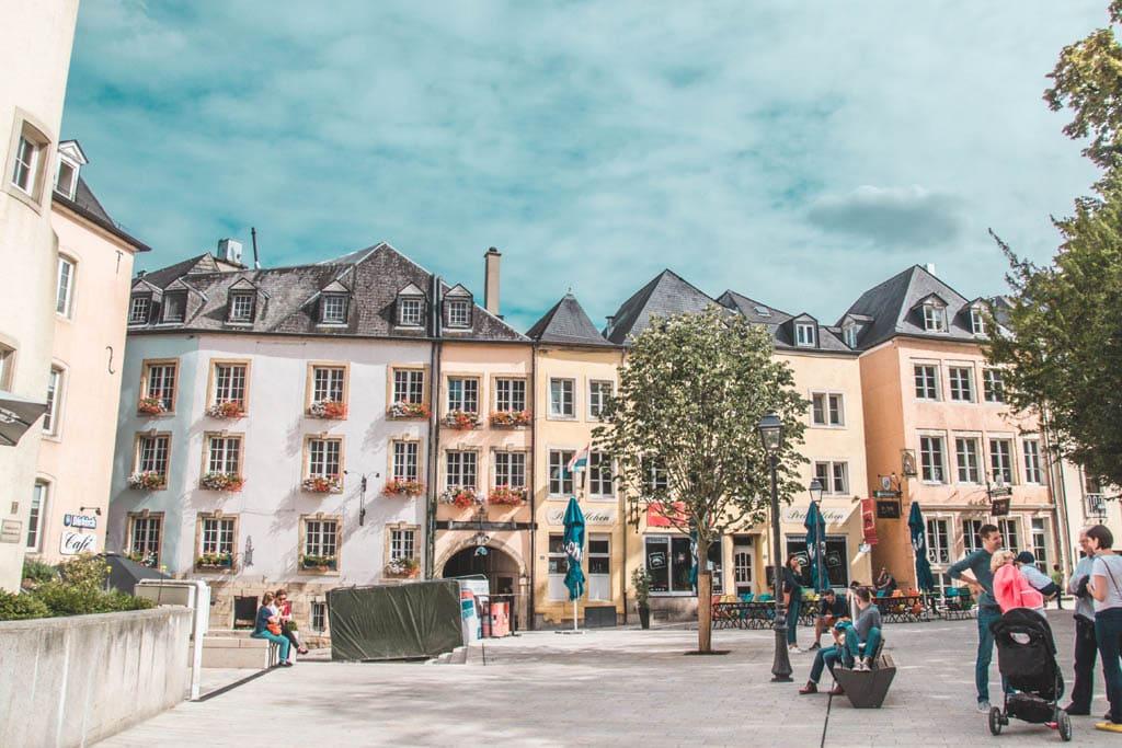 Arquitetura no Luxemburgo, um dos destinos mais seguros para viajar sozinha