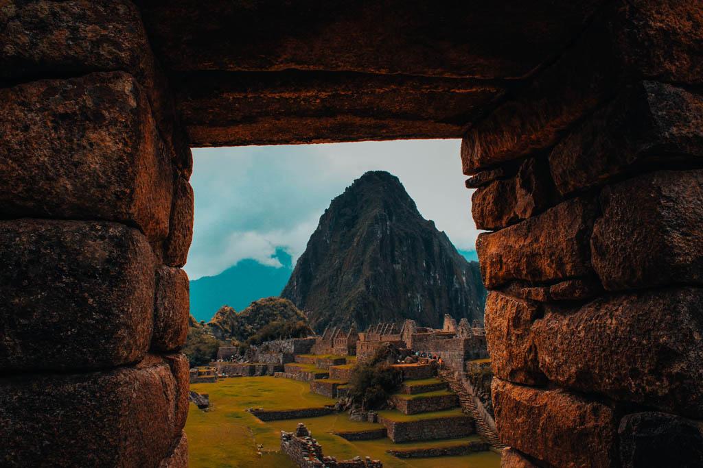 Vista sobre Machu Picchu, no Peru.