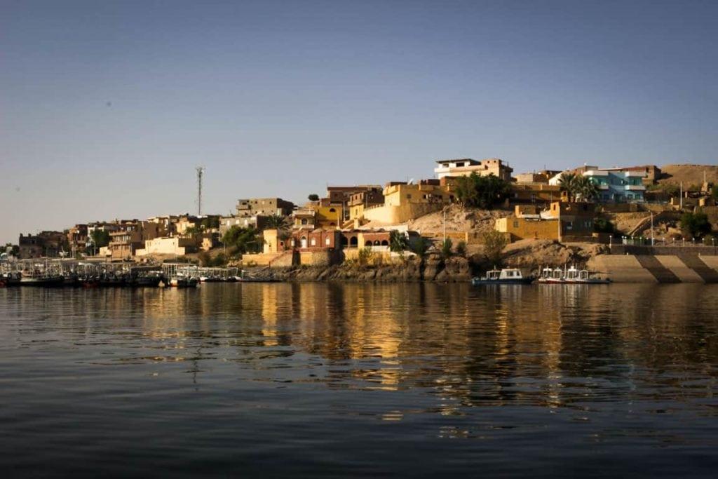 Rio Nilo no Egito