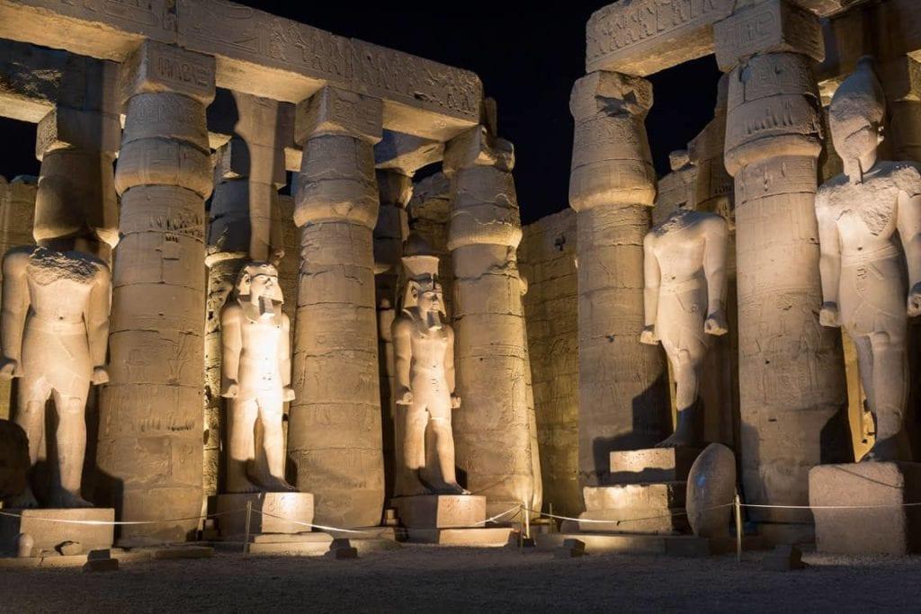 Templo Luxor no Egito