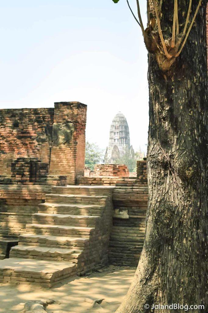 Vista de um templo