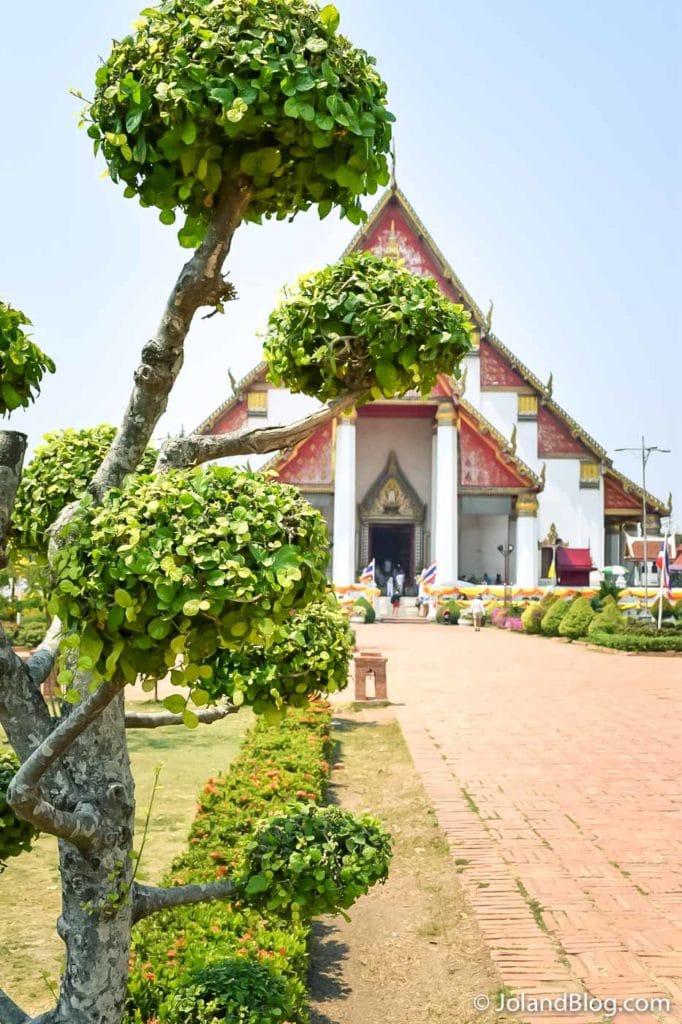 Templo em Ayutthaya
