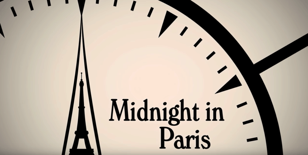 Midnight in Paris - Filmes sobre Viagens