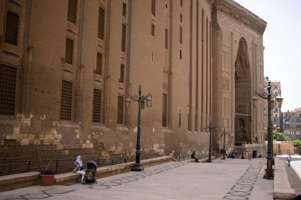 Entrada Mesquita Sultan Hassan