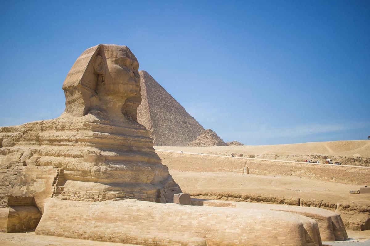 Esfinge Gize Cairo