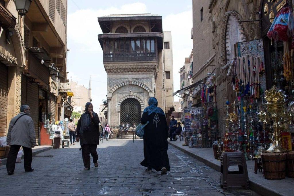 Ruas no Cairo