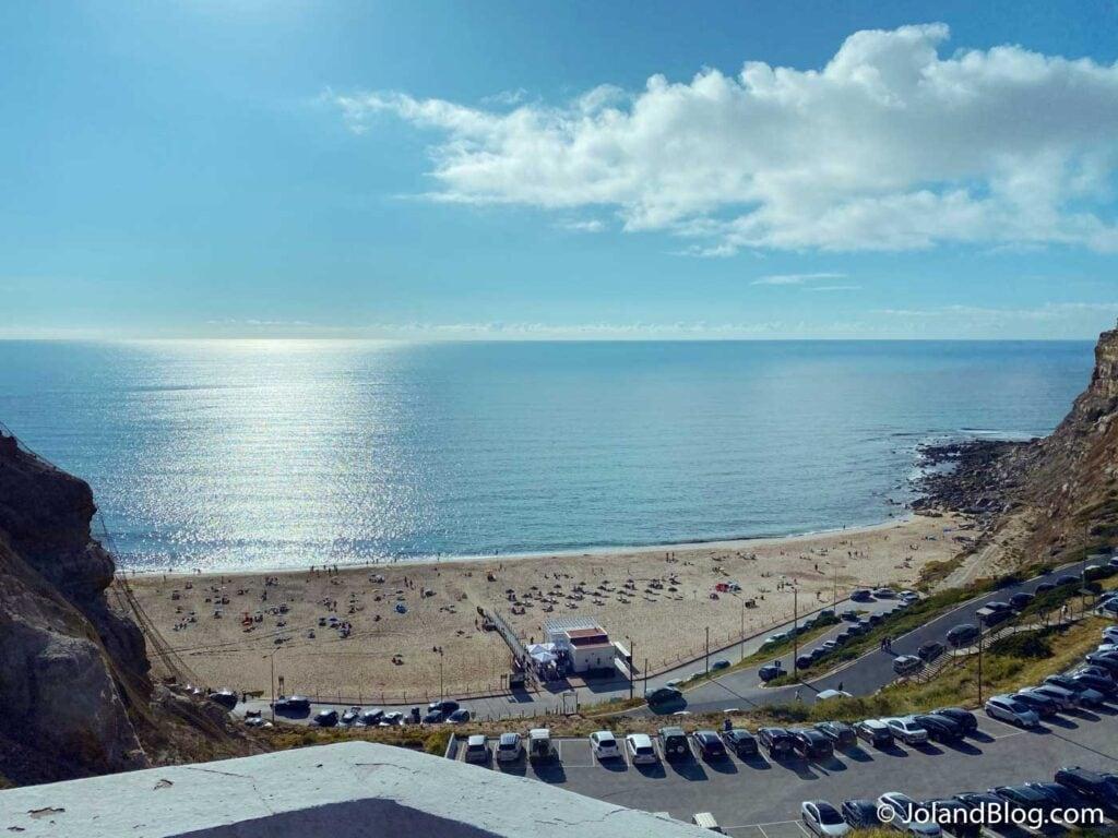 Vista sobre a Praia da Calada