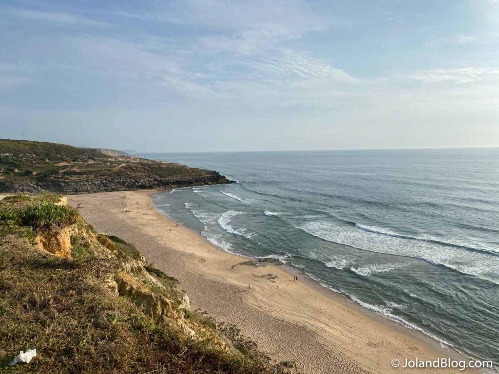 Praia da Foz do Lizandro na Ericeira