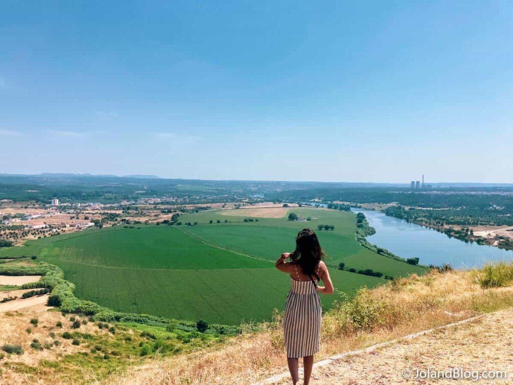 Vista sobre o Rio Tejo em Abrantes