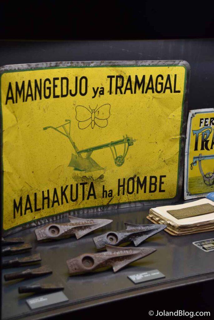 Museu Metalúrgica Duarte Ferreira no Tramagal