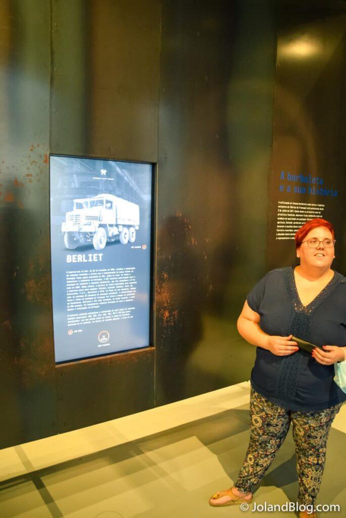 Museóloga Ligia Marques do Museu Metalúrgica Duarte Ferreira no Tramagal