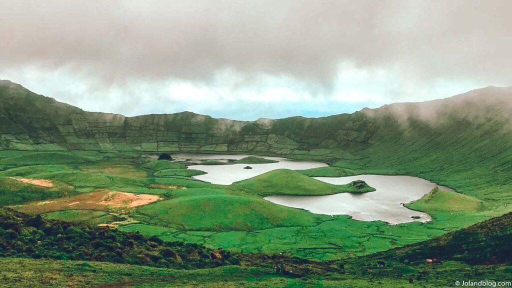 Caldeirão, Ilha do Corvo | Locais a não perder nos Açores