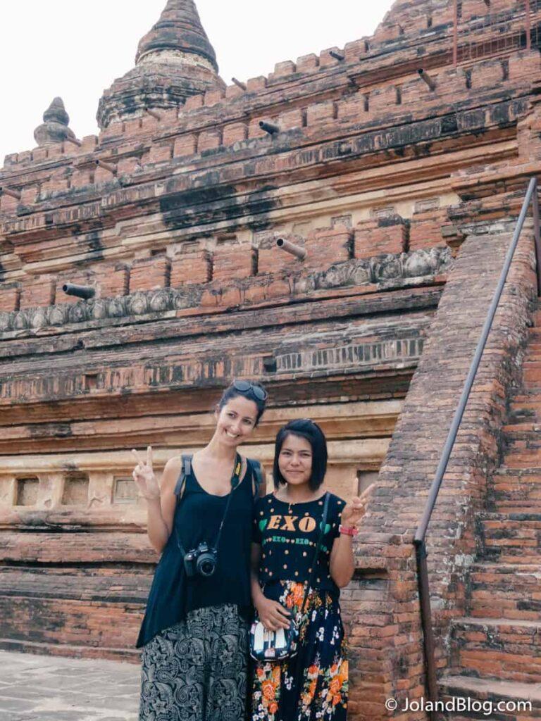 Templo em Bagan, Myanmar | Como fazer a mala de viagem