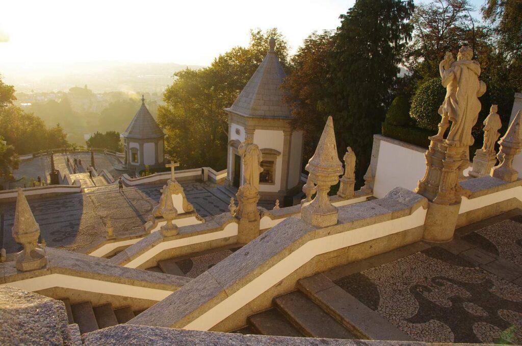 Vista do Bom Jesus em Braga