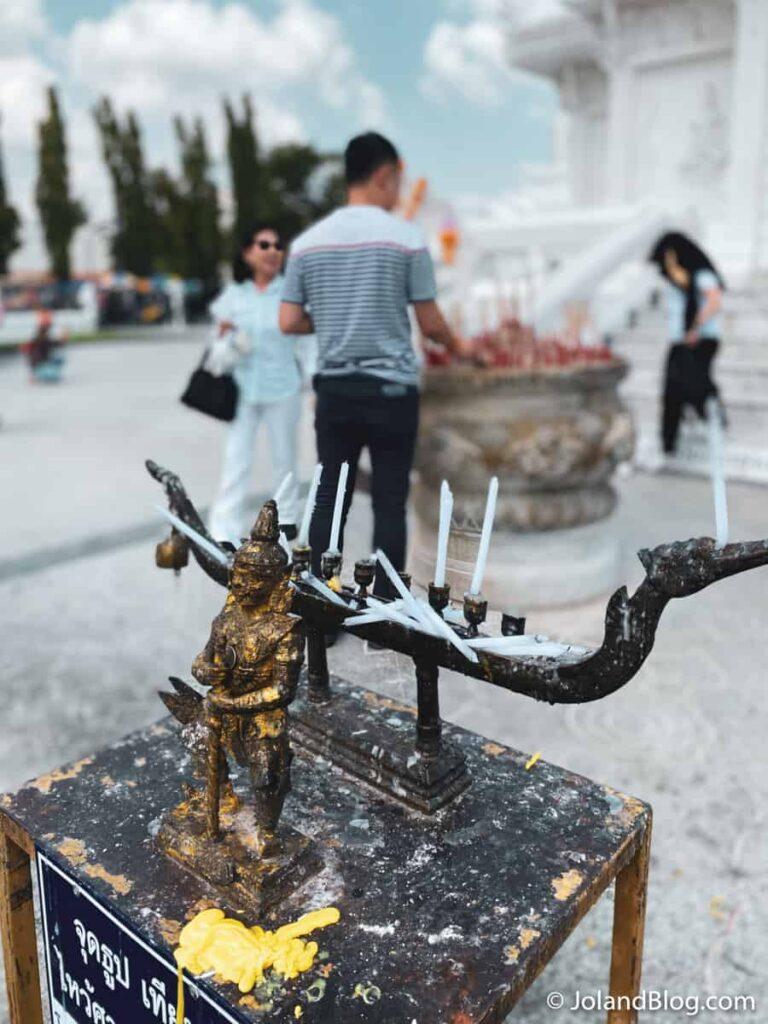 Templo em Nakhon Si Thammarat - Roteiro de Viagem pelo Sul da Tailândia