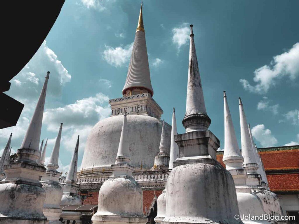 Templo Wat Phra Mahathat Woramahawihan em Nakhon Si Thammarat
