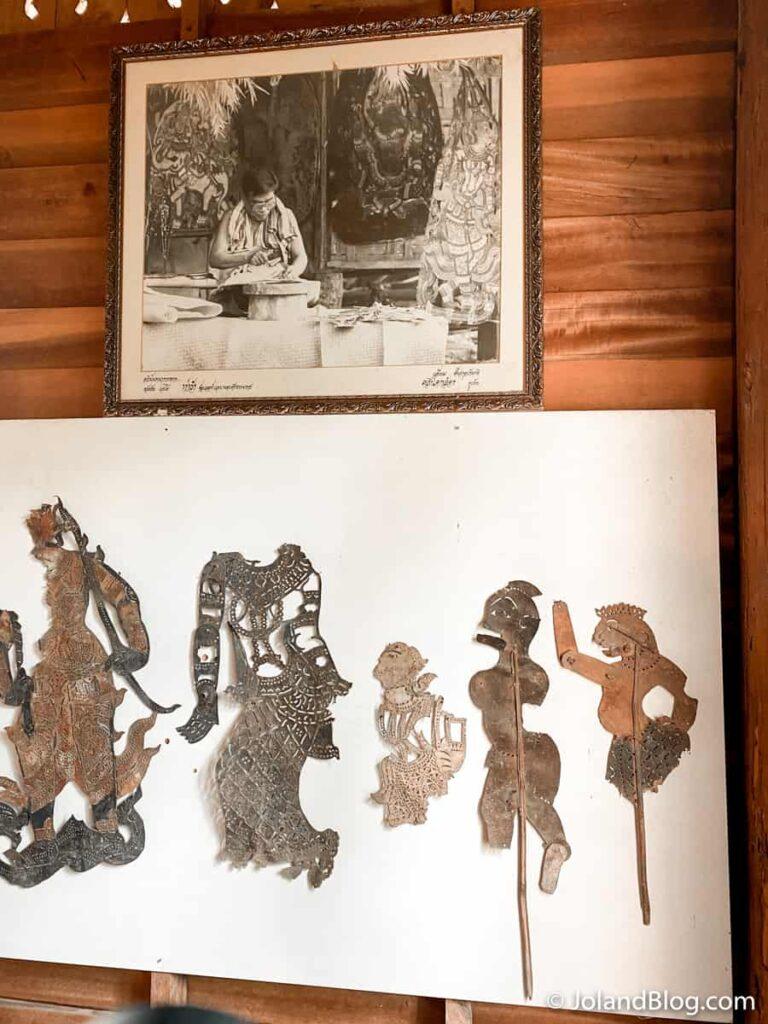 Museu dos Fantoches de Sombra em Nakhon Si Thammarat