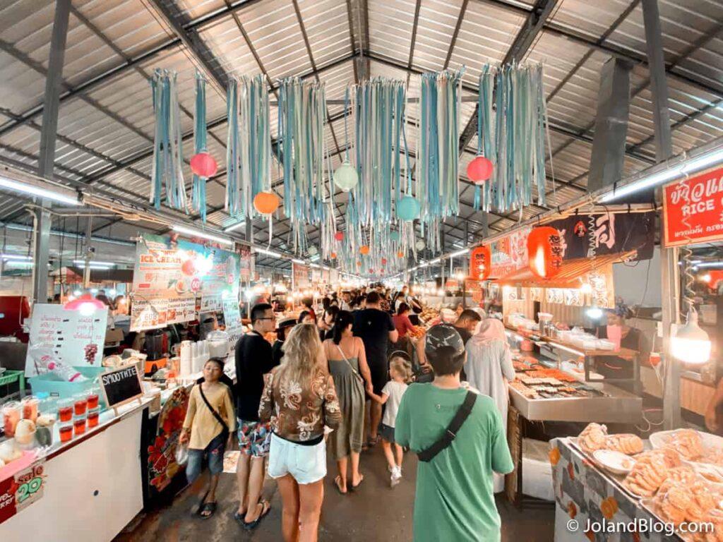 Night Market em Phuket