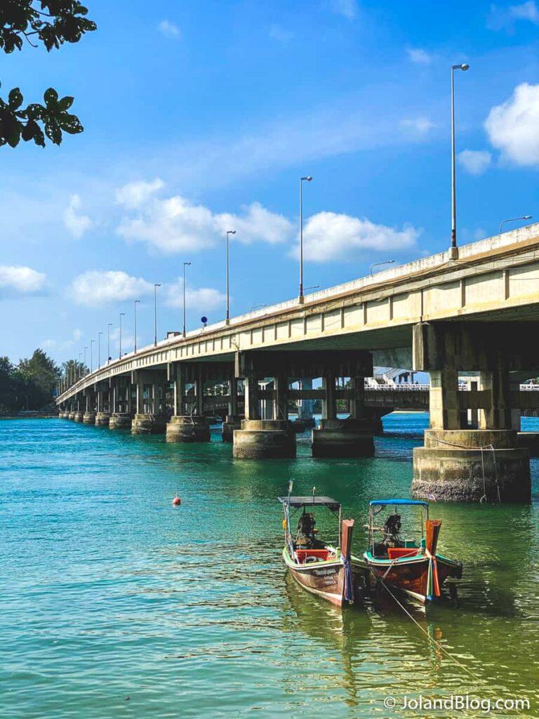 Ponte Saphan Sarasin em Phuket
