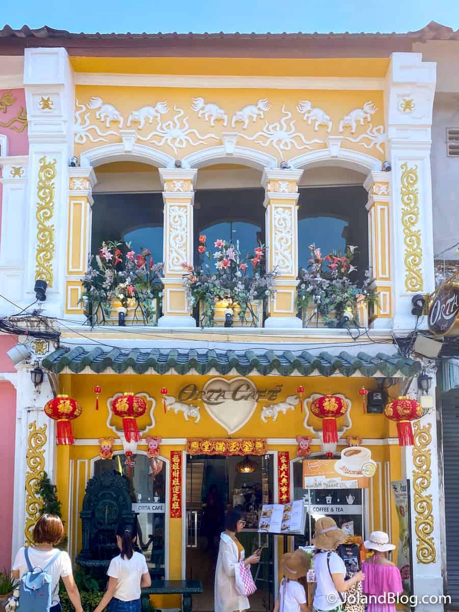 Casa na Old Town de Phuket - Roteiro pelo Sul da Tailândia