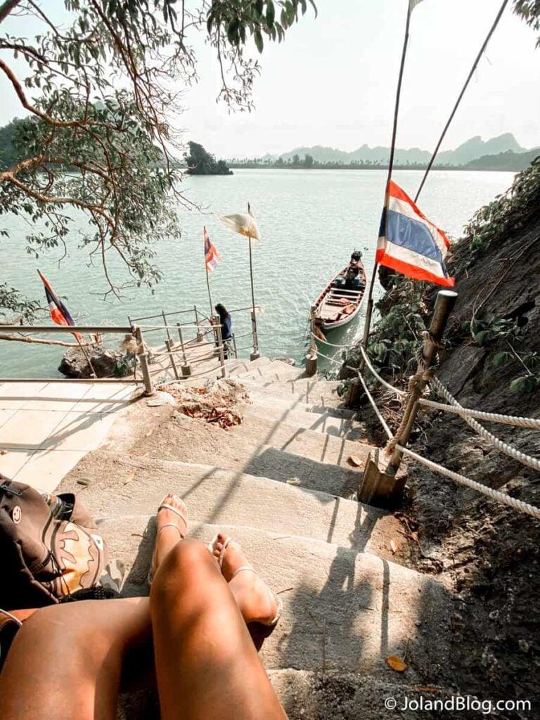 Passeio de barco em Surat Thani - Roteiro de Viagem pelo Sul da Tailândia