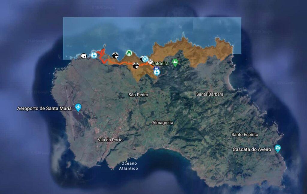 Trilhos Ilha Santa Maria, Açores | Trilho Costa Norte