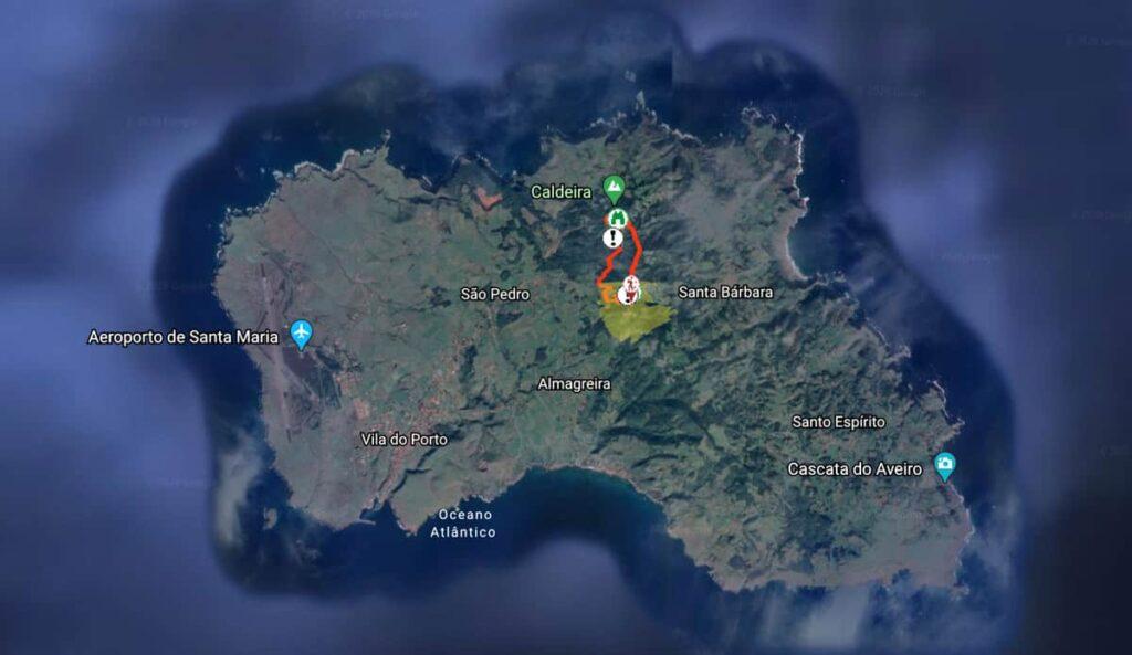 Trilhos Ilha Santa Maria, Açores | Trilho Pico Alto