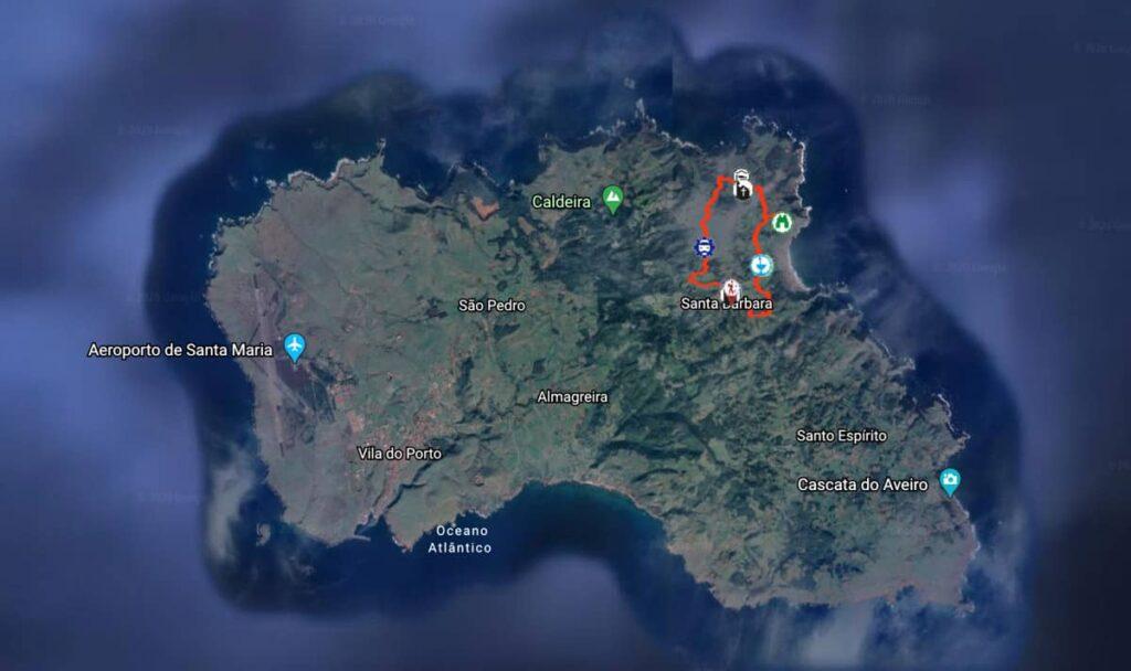 Trilhos Ilha Santa Maria, Açores | Trilho Entre a Serra e o Mar