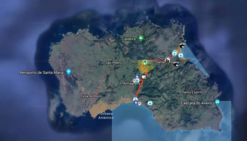 Trilhos Ilha Santa Maria, Açores | Trilho Areia Branca