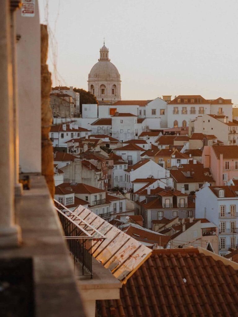 Vista sobre Alfama | Locais a visitar em Lisboa