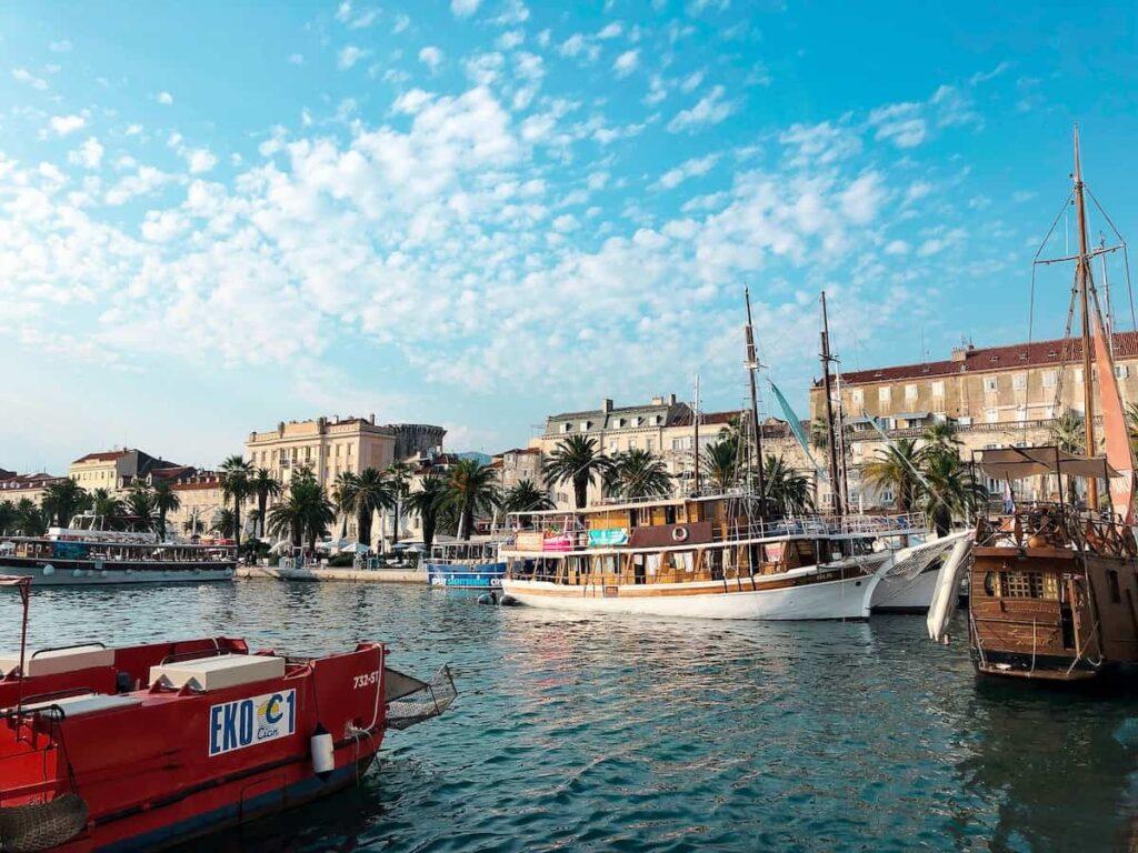 Split, Croatia  / Best destinations for Digital Nomads