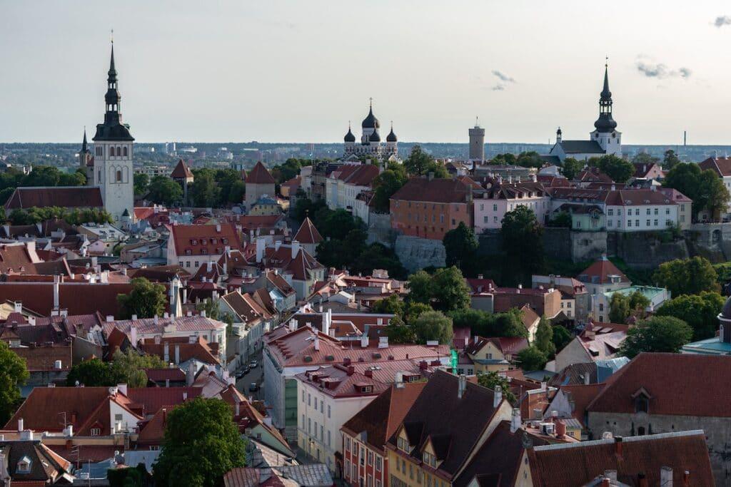 Tallinn, Estonia  / Best destinations for Digital Nomads