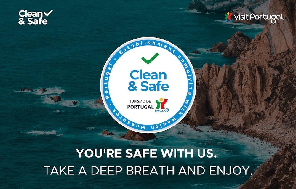 Clean & Safe Turismo de Portugal | Viajar durante a pandemia de Covid