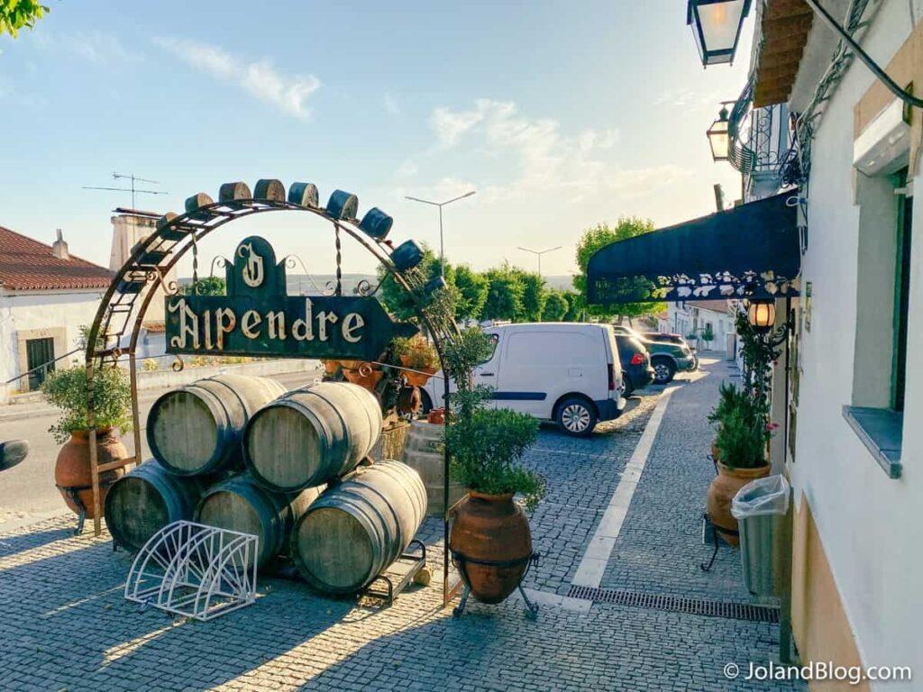Restaurante Alpendre | Escapadinha pelo Alentejo